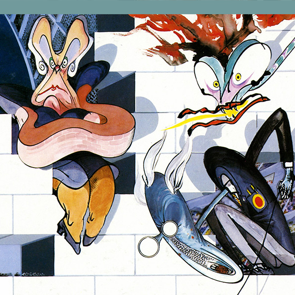 How Gerald Scarfe and Pink Floyd Built u0027The Wallu0027 - Illustration Chronicles & How Gerald Scarfe and Pink Floyd Built u0027The Wallu0027 - Illustration ...